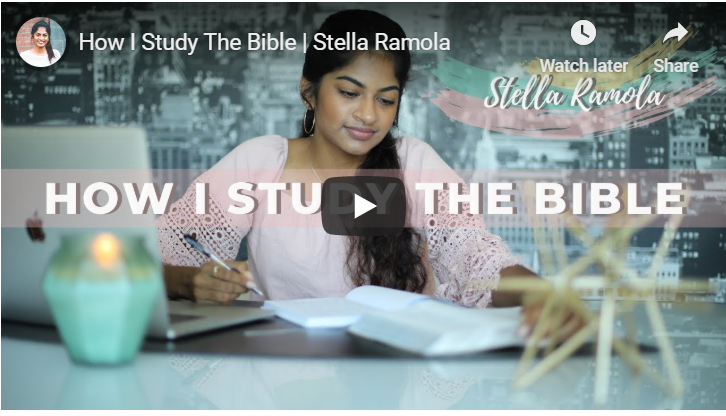 How I Study The Bible ? Stella Ramola