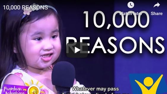 10,000 REASONS  PHILIPPINES Kids signing